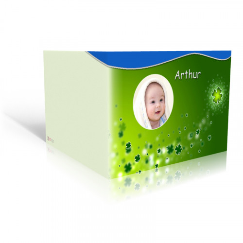 Geburtskarte Babyglueck