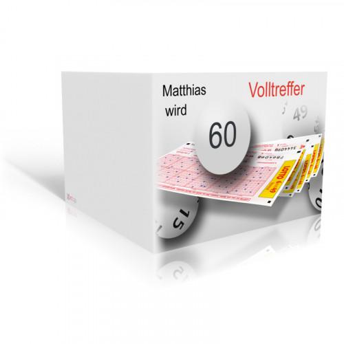 Lotto-Volltreffer Einladung