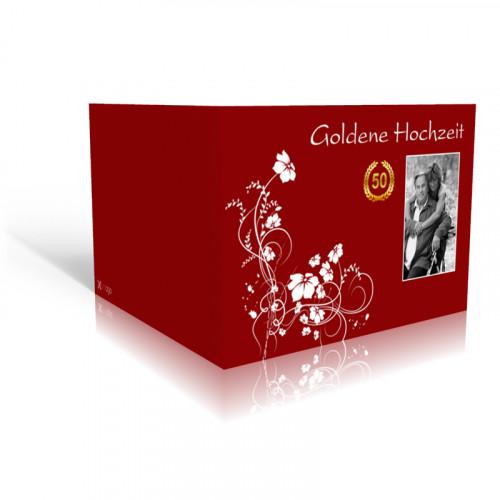 Goldene Hochzeit Weisse Ranke
