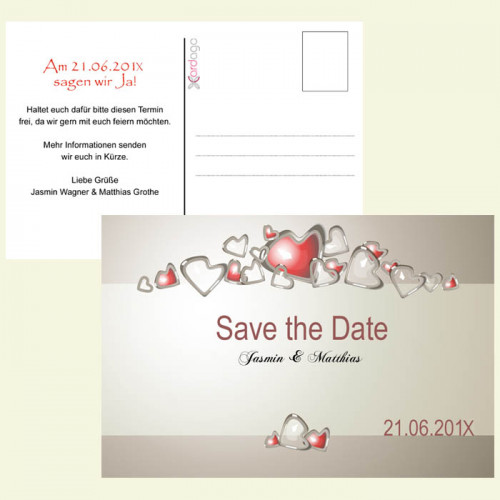 Save-the-Date-Karte-Herztanz