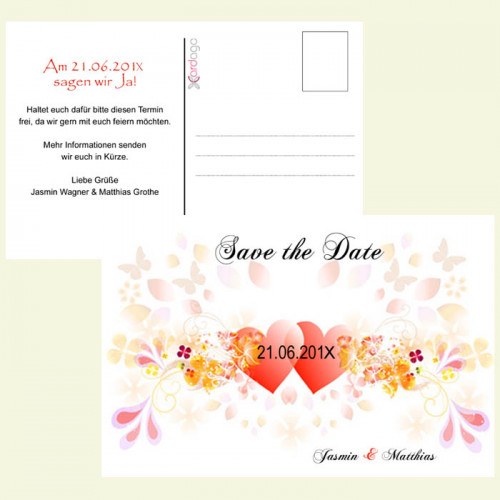 Save-the-Date-Karte-Liebe