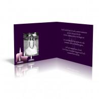 Kerzen auf Violett