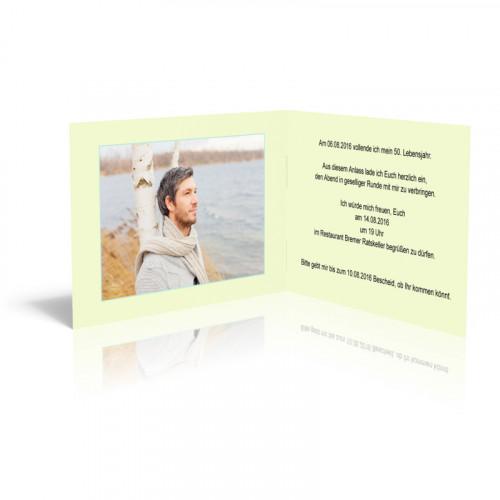 Einladungskarten selber drucken - Bunte Seifenblasen