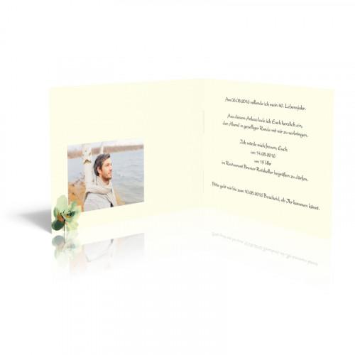 Einladungskarten erstellen - Zauberblüten in Pastell