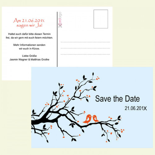 Save-the-Date-verliebte-voegel